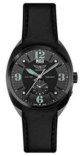 Фото швейцарских часов Мужские швейцарские наручные часы Aviator MIG-21 Fishbed M.1.14.5.084.4