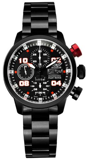 Фото швейцарских часов Мужские швейцарские наручные часы Aviator PROFESSIONAL P.4.06.5.017