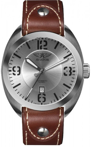Мужские швейцарские наручные часы Aviator Propeller R.3.08.0.023.4