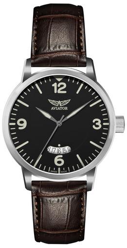 Фото швейцарских часов Мужские швейцарские наручные часы Aviator Aircobra V.1.11.0.034.4