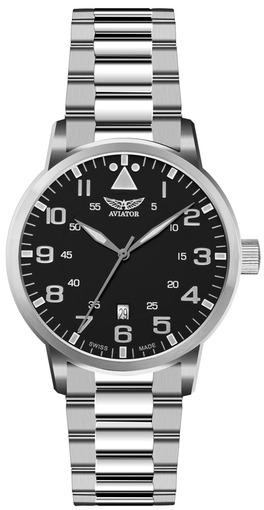 Фото швейцарских часов Мужские швейцарские наручные часы Aviator Aircobra V.1.11.0.036.5
