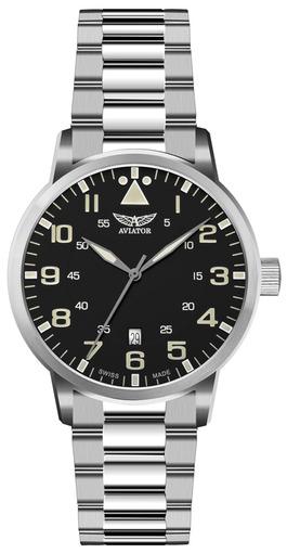 Фото швейцарских часов Мужские швейцарские наручные часы Aviator Aircobra V.1.11.0.037.5