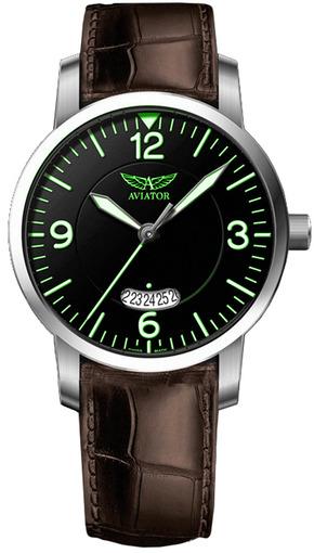 Фото швейцарских часов Мужские швейцарские наручные часы Aviator AIRACOBRA V.1.11.0.045.4