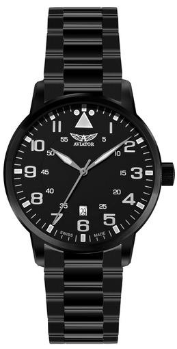 Фото швейцарских часов Мужские швейцарские наручные часы Aviator AIRACOBRA V.1.11.5.036.5