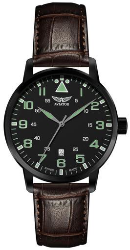 Фото швейцарских часов Мужские швейцарские наручные часы Aviator AIRACOBRA V.1.11.5.038.4