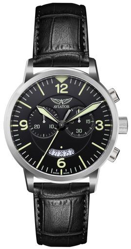 Фото швейцарских часов Мужские швейцарские наручные часы Aviator AIRACOBRA V.2.13.0.074.4