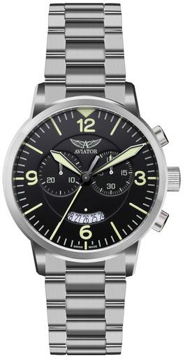 Фото швейцарских часов Мужские швейцарские наручные часы Aviator AIRACOBRA CHRONO V.2.13.0.074.5