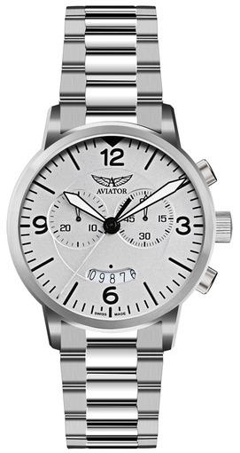Фото швейцарских часов Мужские швейцарские наручные часы Aviator AIRACOBRA CHRONO V.2.13.0.075.5