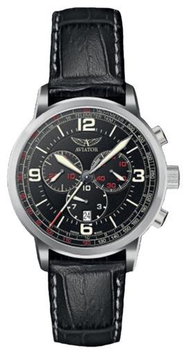 Фото швейцарских часов Мужские швейцарские наручные часы Aviator KINGCOBRA CHRONO V.2.16.0.094.4
