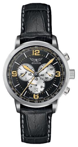 Фото швейцарских часов  швейцарские наручные часы Aviator KINGCOBRA CHRONO V.2.16.0.098.4