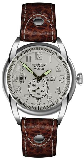 Фото швейцарских часов Мужские швейцарские наручные часы Aviator BRISTOL V.3.07.0.019.4