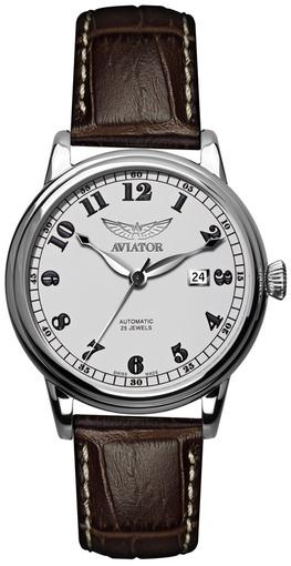 Фото швейцарских часов Мужские швейцарские наручные часы Aviator DOUGLAS V.3.09.0.024.4