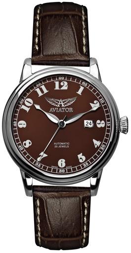 Фото швейцарских часов Мужские швейцарские наручные часы Aviator DOUGLAS V.3.09.0.026.4