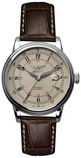 Фото швейцарских часов Мужские швейцарские наручные часы Aviator DOUGLAS V.3.09.0.027.4