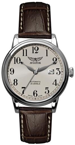 Фото швейцарских часов Мужские швейцарские наручные часы Aviator DOUGLAS V.3.09.0.057.4