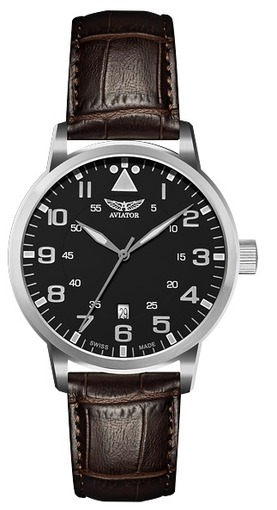 Фото швейцарских часов Мужские швейцарские наручные часы Aviator AIRACOBRA V.1.11.0.036.4