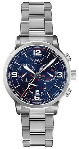 Фото швейцарских часов Мужские швейцарские наручные часы Aviator KINGCOBRA CHRONO V.2.16.0.095.5
