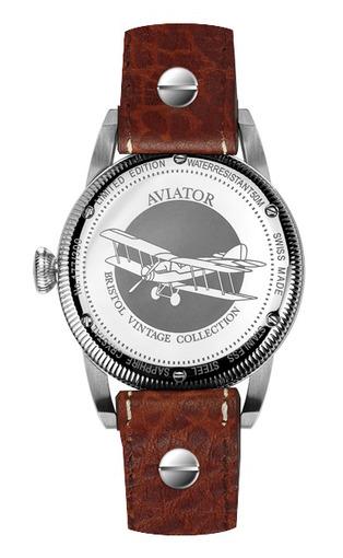 Фото швейцарских часов Мужские швейцарские наручные часы Aviator BRISTOL V.3.07.0.082.4