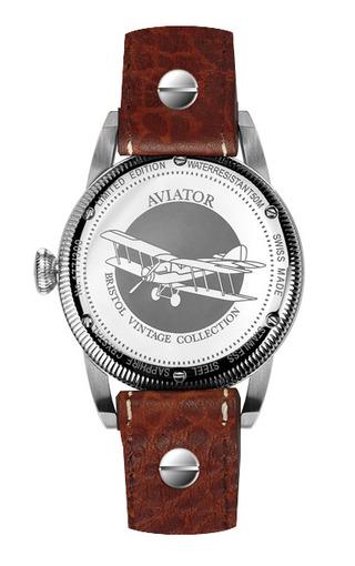 Фото швейцарских часов Мужские швейцарские наручные часы Aviator BRISTOL V.3.07.0.083.4