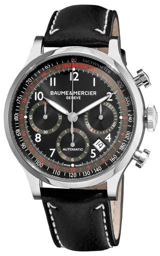 Фото швейцарских часов Мужские швейцарские наручные часы Baume&Mercier Capeland MOA10001
