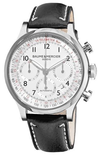 Фото швейцарских часов Мужские швейцарские наручные часы Baume&Mercier Capeland MOA10005