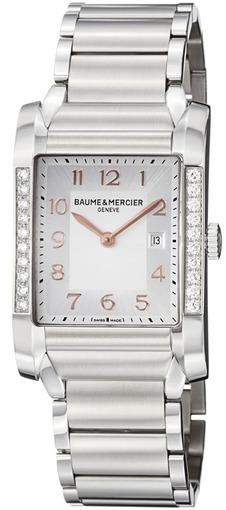 Фото швейцарских часов Женские швейцарские наручные часы Baume&Mercier Hampton MOA10023