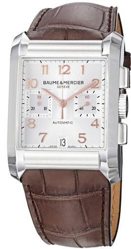 Фото швейцарских часов Мужские швейцарские наручные часы Baume&Mercier Hampton MOA10029