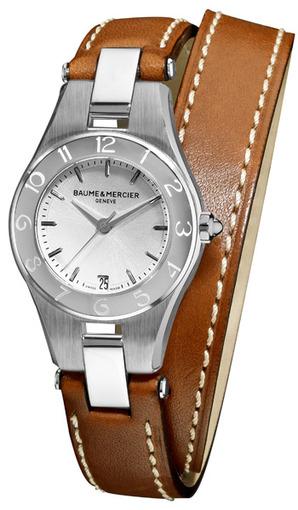 Фото швейцарских часов Женские швейцарские наручные часы Baume&Mercier Linea MOA10036