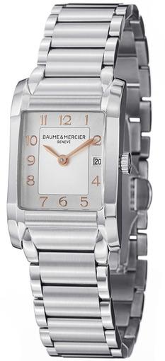 Фото швейцарских часов Женские швейцарские наручные часы Baume&Mercier Hampton Lady MOA10049