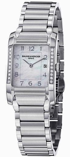 Фото швейцарских часов Женские швейцарские наручные часы Baume&Mercier Hampton MOA10051