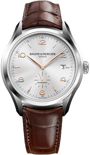 Фото швейцарских часов Мужские швейцарские наручные часы Baume&Mercier Clifton MOA10054
