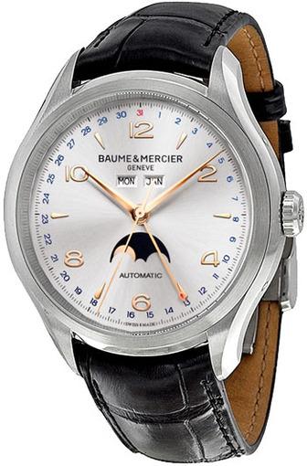 Фото швейцарских часов Мужские швейцарские наручные часы Baume&Mercier Clifton MOA10055