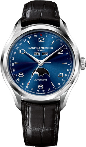 Фото швейцарских часов Мужские швейцарские наручные часы Baume&Mercier Clifton MOA10057