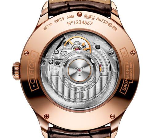 Мужские швейцарские наручные часы Baume&Mercier Clifton MOA10059