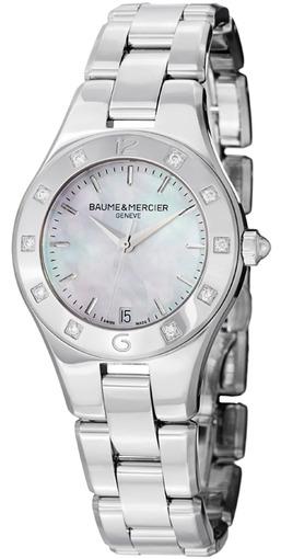 Фото швейцарских часов Женские швейцарские наручные часы Baume&Mercier Linea MOA10071