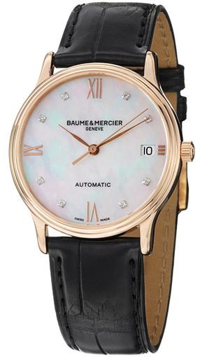 Фото швейцарских часов Женские швейцарские наручные часы Baume&Mercier Classima Executives MOA10077