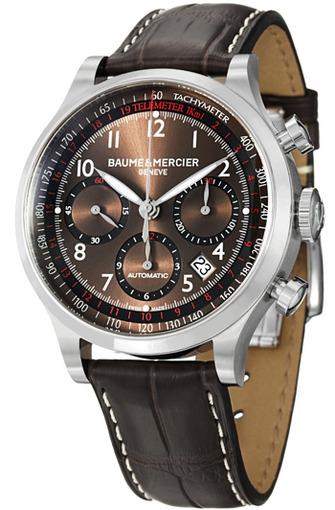 Фото швейцарских часов Мужские швейцарские наручные часы Baume&Mercier Capeland MOA10083