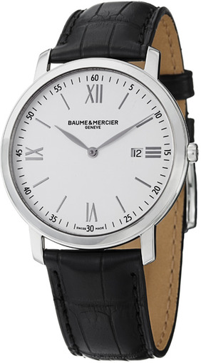 Фото швейцарских часов Мужские швейцарские наручные часы Baume&Mercier Classima Executives MOA10097