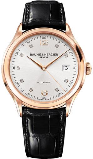 Фото швейцарских часов Мужские швейцарские наручные часы Baume&Mercier Clifton Automatic  MOA10104