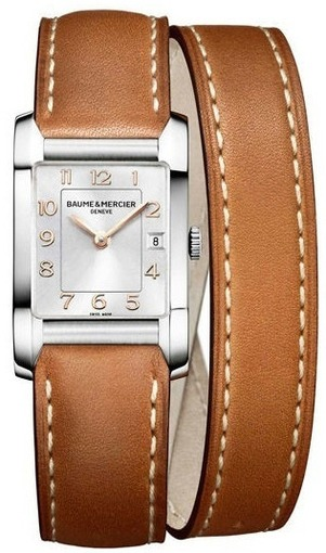 Фото швейцарских часов Женские швейцарские наручные часы Baume&Mercier Hampton MOA10110