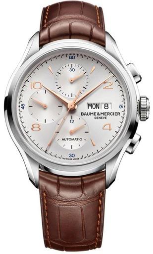 Фото швейцарских часов Мужские швейцарские наручные часы Baume&Mercier Clifton MOA10129
