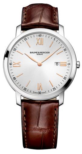 Фото швейцарских часов Мужские швейцарские наручные часы Baume&Mercier Classima  MOA10131