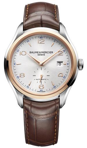 Фото швейцарских часов Мужские швейцарские наручные часы Baume&Mercier Clifton MOA10139