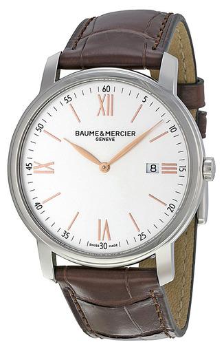 Фото швейцарских часов Мужские швейцарские наручные часы Baume&Mercier Clifton MOA10144