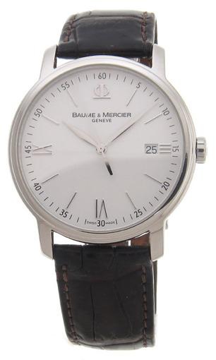 Фото швейцарских часов Мужские швейцарские наручные часы Baume&Mercier Classima  MOAO8485