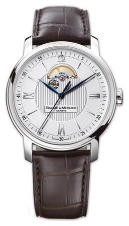 Фото швейцарских часов Мужские швейцарские наручные часы Baume&Mercier Classima Open Balance MOAO8688