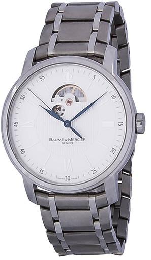 Фото швейцарских часов Мужские швейцарские наручные часы Baume&Mercier Classima Open Balance MOAO8833