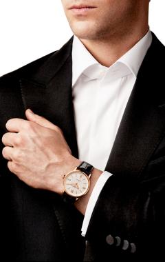 Фото швейцарских часов Мужские швейцарские наручные часы Baume&Mercier Classima Executives MOA10037