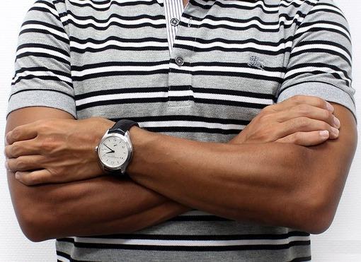 Фото швейцарских часов Мужские швейцарские наручные часы Baume&Mercier Clifton MOA10052