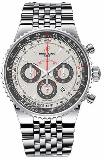 Фото швейцарских часов Мужские швейцарские наручные часы Breitling Montbrillant 47 A23351A6/G741/445A